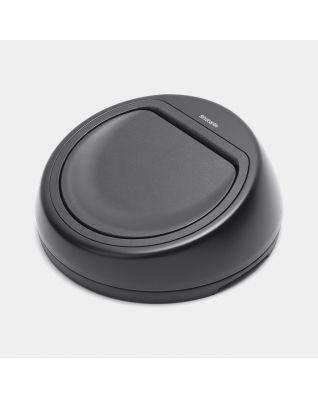 Lid for Touch Bin, 50 litre - Black