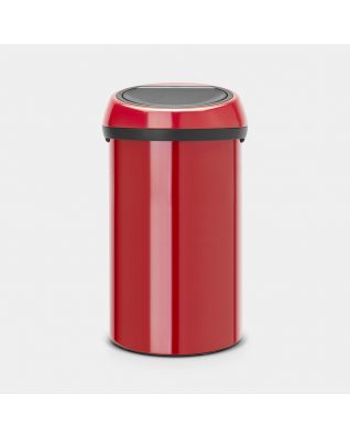 Touch Bin 60 litre - Passion Red