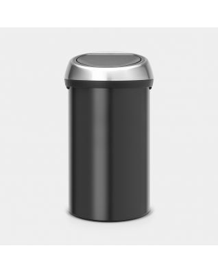 Touch Bin 60 litre - Matt Black