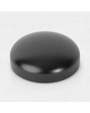 Couvercle pour poubelle à pédale Retro, 20 litres/30 litres, diamètre 30 cm - Black