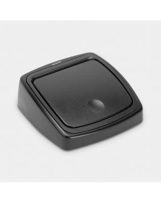 Lid Touch Bin, 25 litre - Black