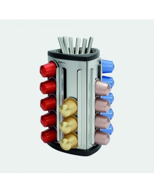 Coffee Capsule Dispenser Matt Steel