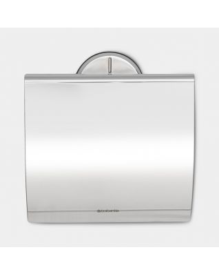 Toiletrolhouder Profile - Brilliant Steel