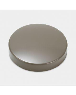 Couvercle pour boîte, 低, diamètre 11cm - Taupe