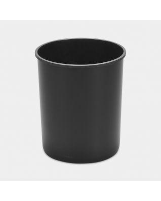Seau intérieur plastique, Built-in Bin 15 litres - Black