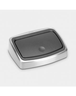 Coperchio ricambio Touch Bin, 10 litri - Matt Steel Fingerprint Proof