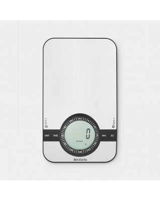 Kitchen Scales Matt Steel
