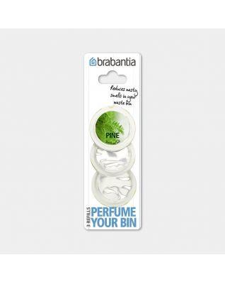 Perfume Your Bin Navulcapsules, 3 stuks, Pine