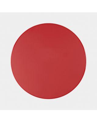 Deksel pedaalemmer Silent, 30 liter, diameter 30 cm - Passion Red