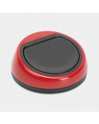 Deckeleinheit Touch Bin, 60 Liter - Passion Red