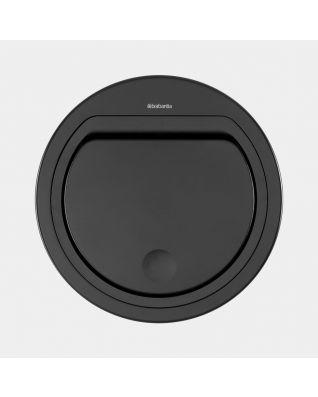 Couvercle plat Touch Bin 30 litres ou 20 litres - Matt Black