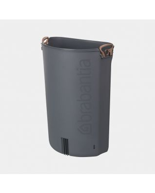 Plastic Inner Bucket Flatback+, 40 litre - Grey