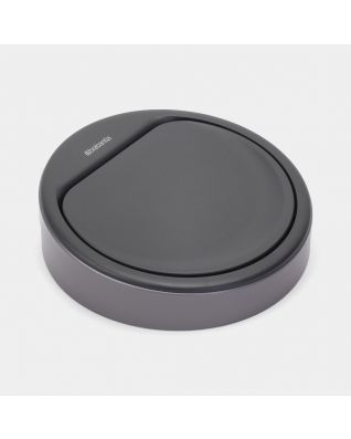 Lid Touch Bin New, 30 litre or 20 litre - Platinum