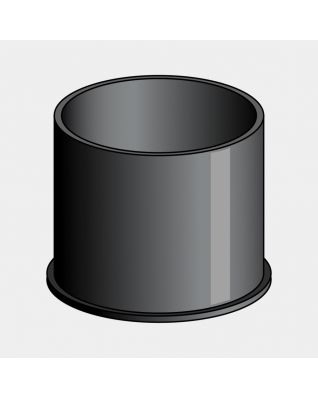 Bodemhuls voor zeepdispenser - Black