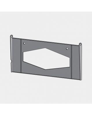 Fixing Plate Kitchen Roll Holder - Black