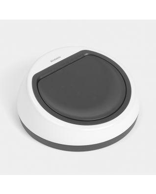 Deckeleinheit Touch Bin, 60 Liter - White