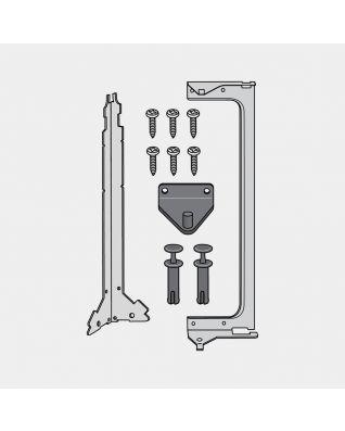 Kit montage pour Built-in Bin, 15 litres - White