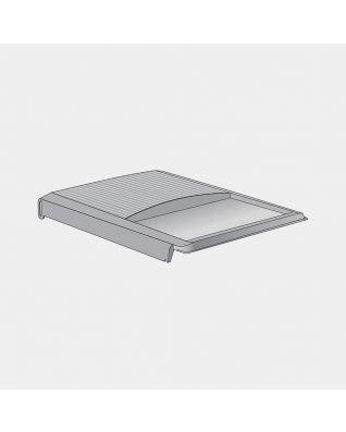Couvercle plastique pour poubelle pour Built-in, 2x18 litres - Grey