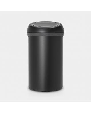 Touch Bin 60 litre - Mineral Moonlight Black