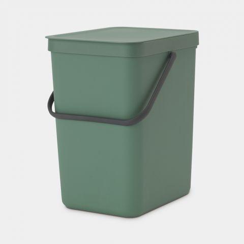 Groene prullenbak afval scheiden 25 liter
