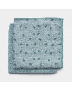Microvezel Schoonmaakdoekjes Set van 2 - Mint