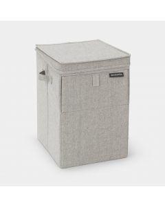 Panier à linge empilable 35 litres - Grey