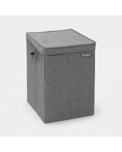Stackable Laundry Box 35 litre - Pepper Black