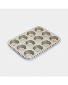 Moule à muffins Lot de 12, anti-adhésifs - Champagne