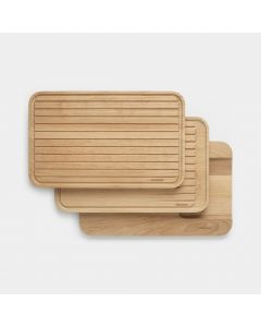 Chopping Board Set Set of 3, for vegetables, bread & meat - Profile