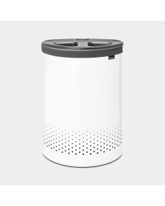 Laundry Bin 55 litre, Selector - White