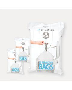 PerfectFit Bags Code H (50-60 litre), 3 Dispenser Packs, 90 Bags