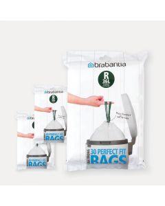 Sacs PerfectFit Pour Bo, Code R (36 litres), 3 distributeurs, 90 sacs