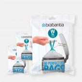 PerfectFit Bags Code W (5 litre), 3 Dispenser Packs, 180 Bags