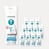 PerfectFit Bags Code W (5 litre), 12 rolls of 20 bags