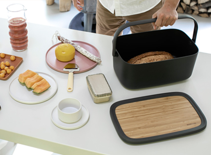 Brabantia introduces new portable Nic Bread Bin