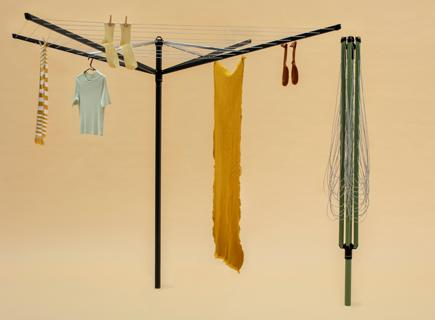 Neue, farbige Wäschespinnen von Brabantia