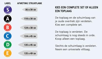 Strijkplankhoes Brabantia
