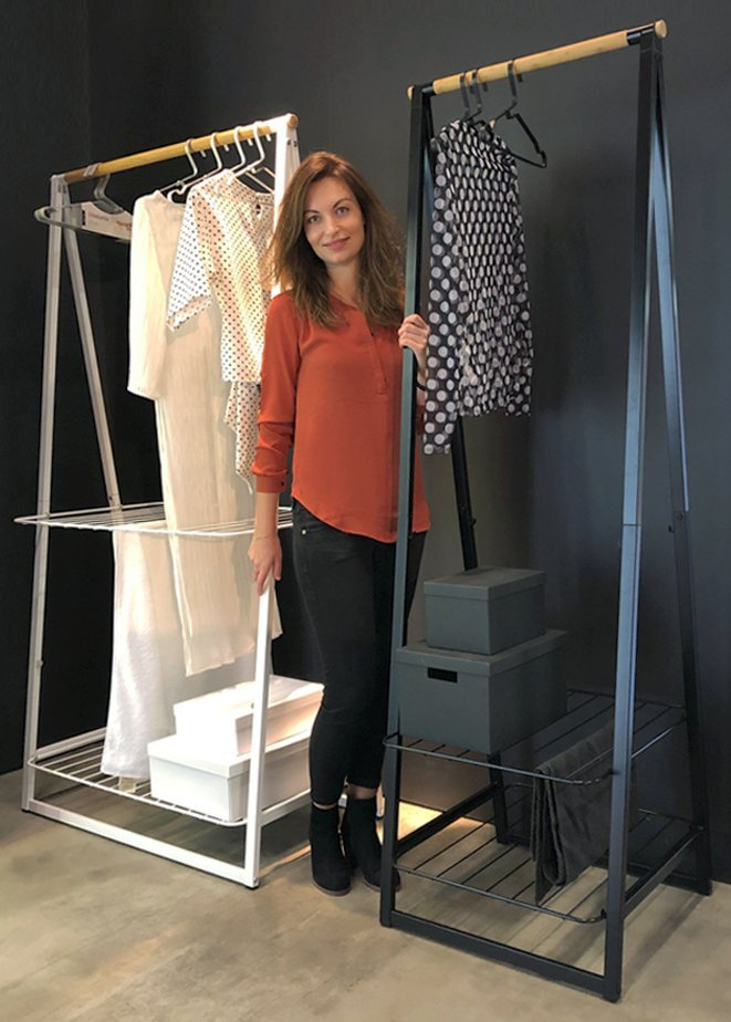 Designer of Linn clothes rack
