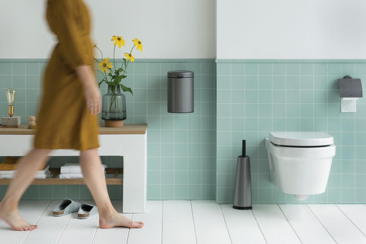 Mit diesen Hilfsmitteln halten Sie Ihr Bad sauber  Brabantia