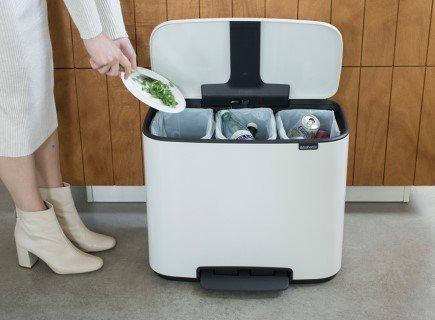 Los cuatro mejores cubos de reciclaje para el hogar