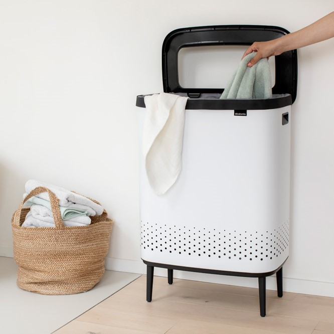Laundry Baskets Bags Bins Brabantia, Laundry Basket Cabinet