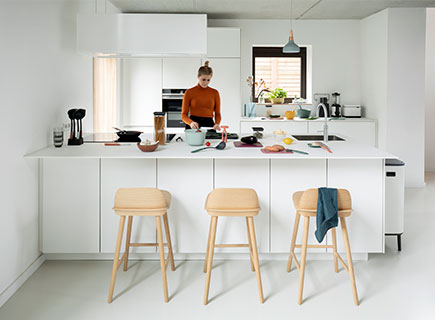I piani di lavoro della cucina - come mantenerli puliti e ordinati: