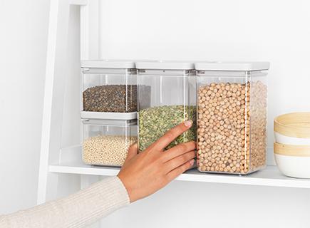 Soluciones de almacenamiento inteligentes para la cocina